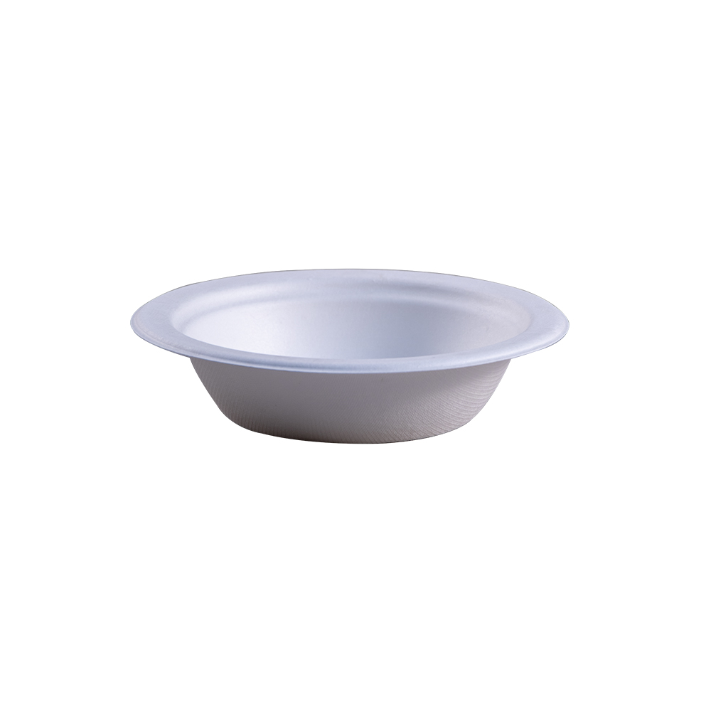 Empress Earth Heavy Weight Bowl 12oz Natural Bagasse