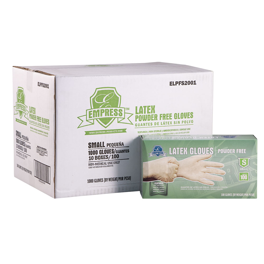 *SPECIAL ORDER ITEM* Latex Gloves, Powder Free, Size: Small, Color: Clear, 1000/cs *SEE DETAILS BELOW*