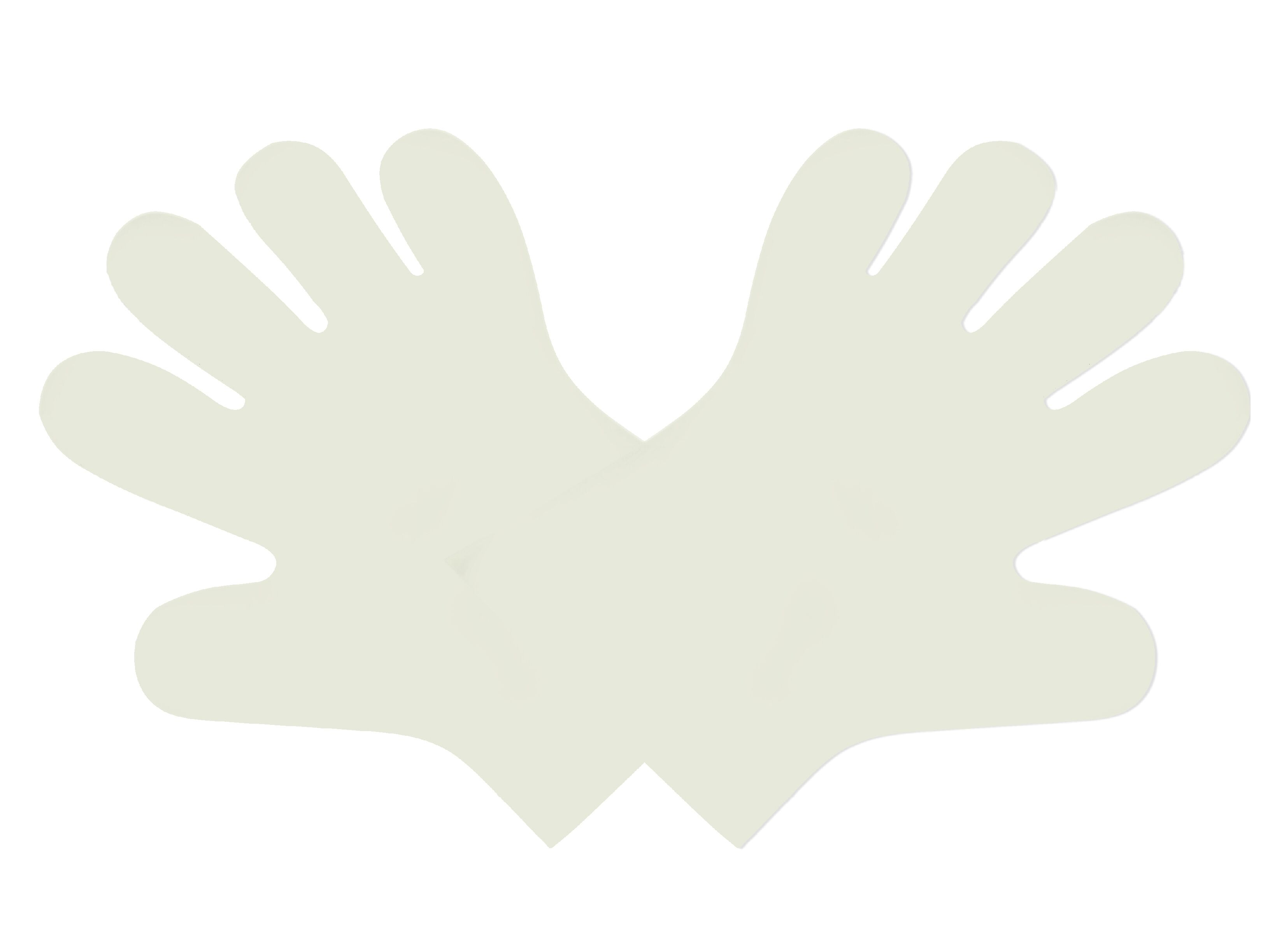 Food handling gloves, Size: Large, Color: Clear, Compostable, 2400/cs