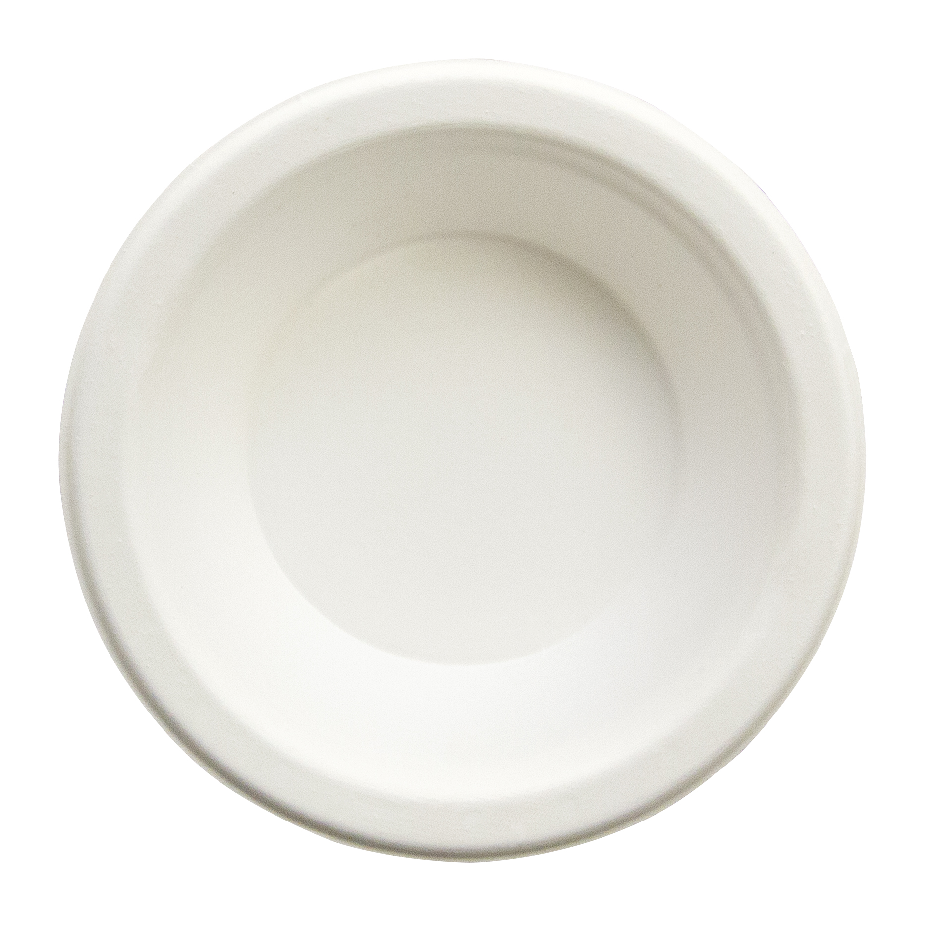 Eco-Friendly 100% Compostable Sugarcane fiber, Heavy Weight Bowl, Size: 12 oz , Color: Natural, 1,000/cs
