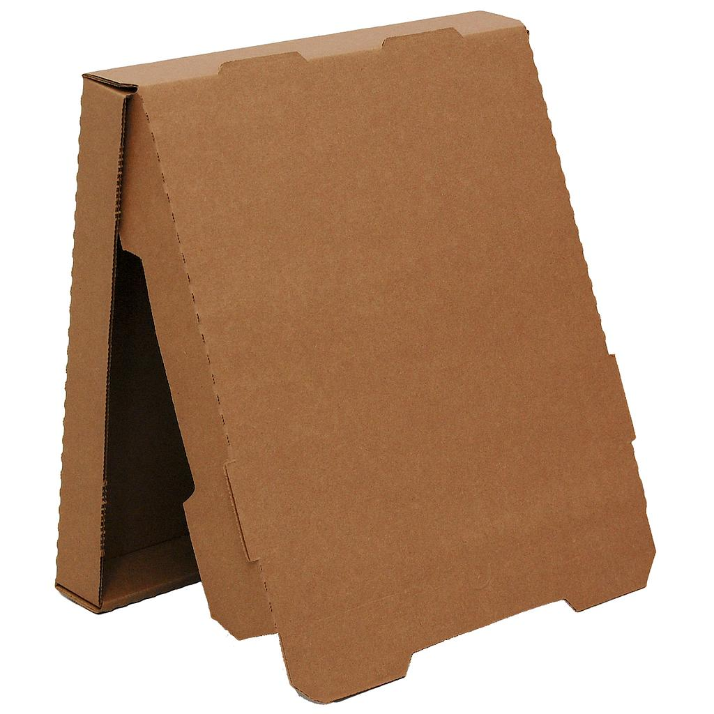 Pizza box, Size: 16x16x1.88, Color: Kraft / Kraft, B-Flute, 50/bundle