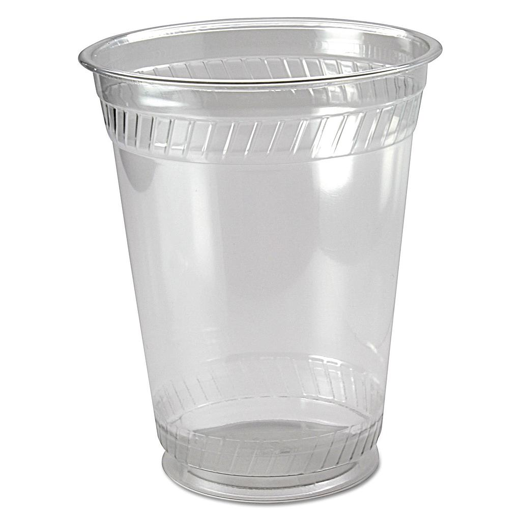 16 oz PLA cold cup, Compostable, Color: clear, 1000/cs