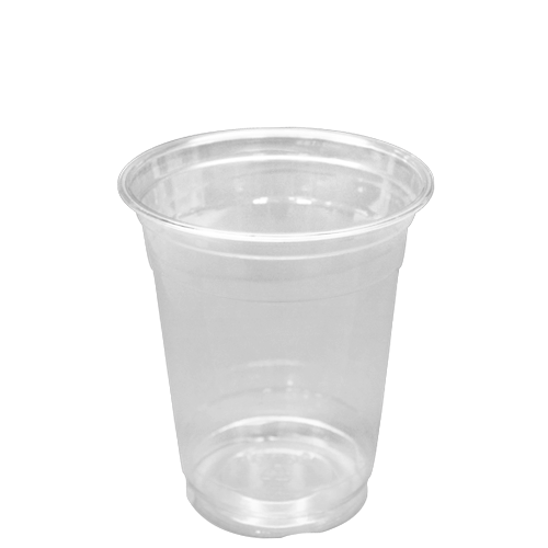 12 oz (14 oz flush fill) PET cold cup, Color: clear, 1000/cs