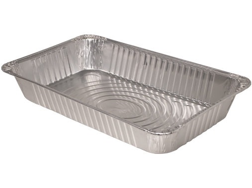 "Full Size Deep Steam Table Pan, Heavy Weight, Size: 20.8""x12.9""x3.19"", 50/cs, Special Order, Non-refundable, 1 week lead time"