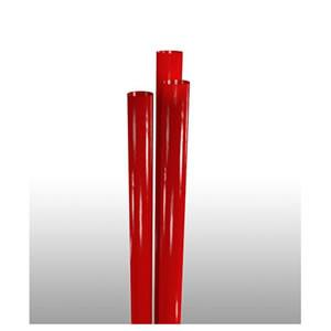 "Giant straw, Length: 9"", Color: Red, Material: Plastic, Unwrapped, 7200/cs"