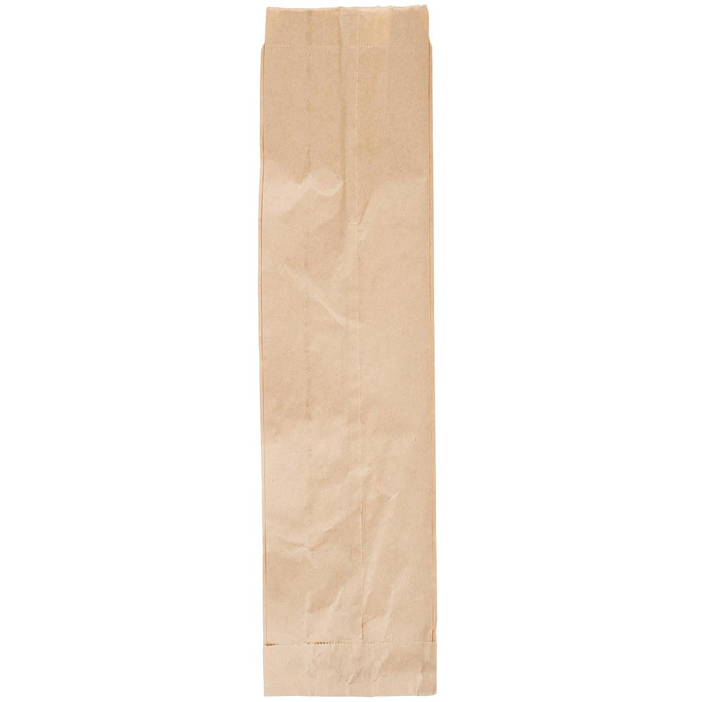 Quart Liquor Paper Bag, Size: 4.25x2.5x16, Color: Natural, 500/cs