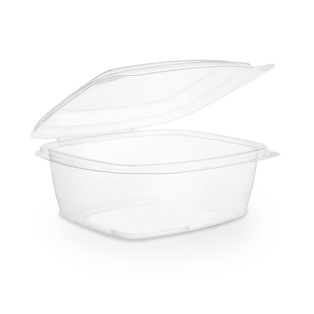 *SPECIAL ORDER ITEM* 24 oz PLA Hinged Lid Deli Container, Clear, Compostable, 200/cs, Special Order Item, Non-refundable, 3 to 4 week lead time