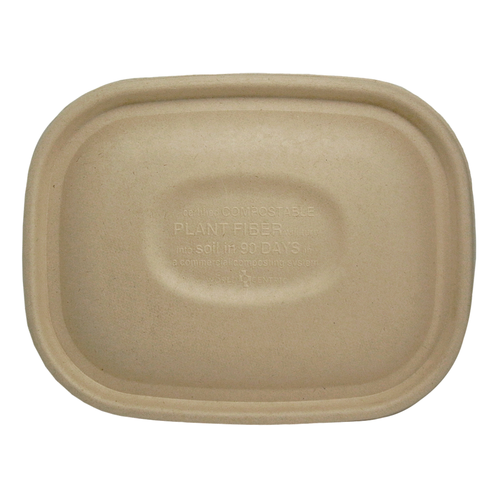 *SPECIAL ORDER ITEM* Fiber lid for 20-48 oz Fiber Boxes, Compostable, 400/cs *ESTIMATED DELIVERY 4 TO 6 WEEKS* (NOT RETURNABLE)