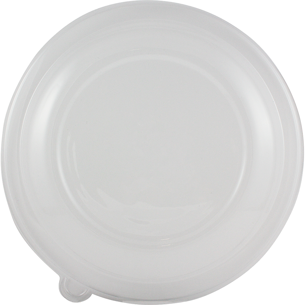 *SPECIAL ORDER ITEM* PLA lid for 36 oz Shallow Bowl, Color: Clear, Compostable, 300/cs * SEE DETAILS BELOW