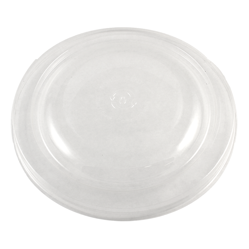 *SPECIAL ORDER ITEM* Clear lid for 24 oz Fiber Round Bowl, Color: Clear, Certified Compostable, 300/cs *ESTIMATED DELIVERY 4 TO 8 WEEKS* (NOT RETURNABLE)