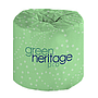 "*SPECIAL ORDER ITEM* Bathroom Tissue, 2-ply, White, 4.4""x3.1"" Sheets, 500 sheets/roll; 100% Recycled Paper, Average 45% Post Consumer Recycled Content, Green Seal Certified, Non-refundable, 96 rolls/cs *ESTIMATED DELIVERY 1 WEEK*"